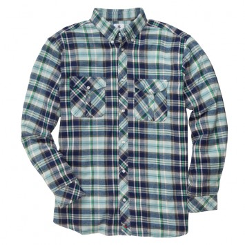 Field Flannel: Blue